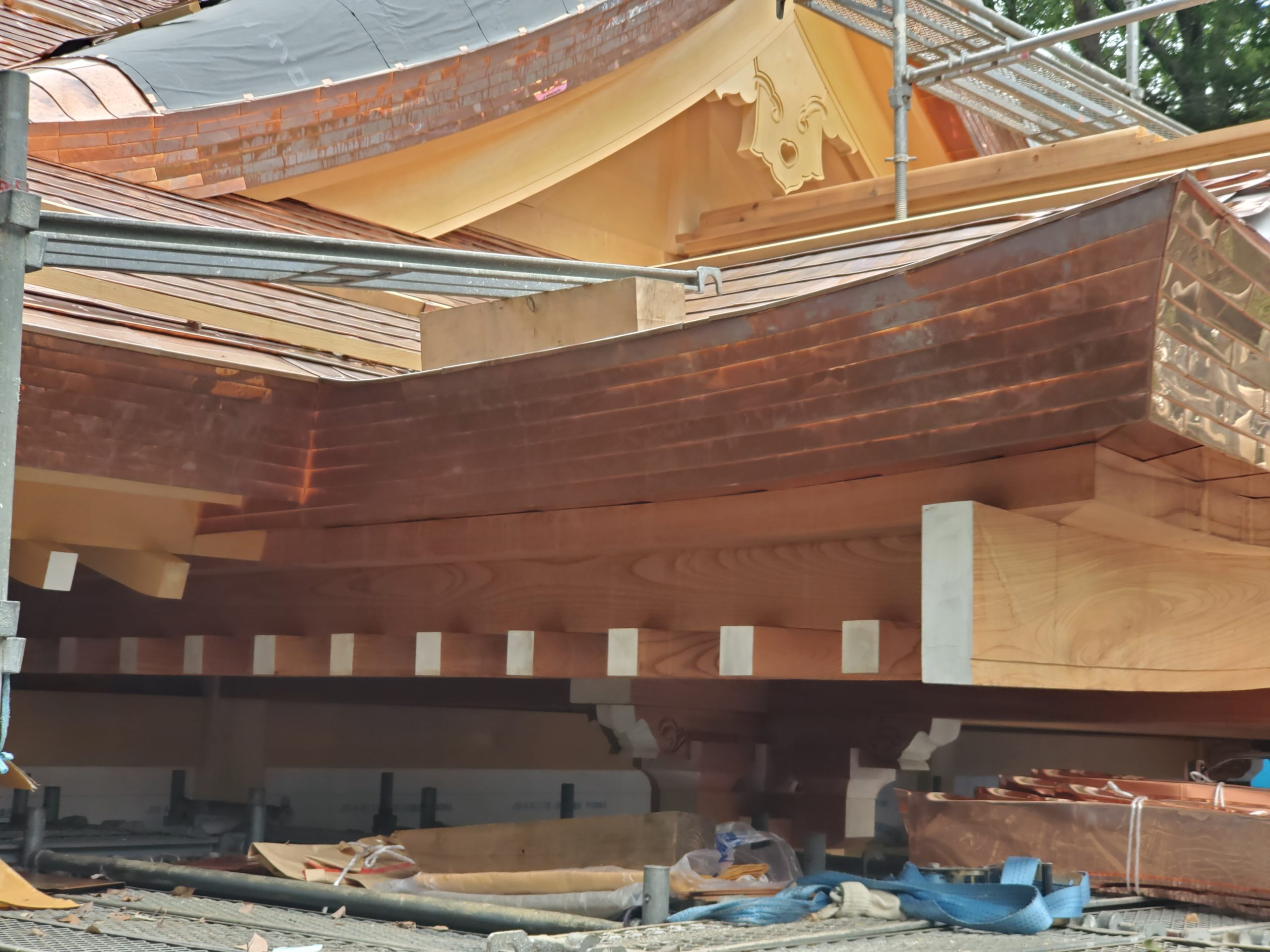 小金井神社拝殿新築工事